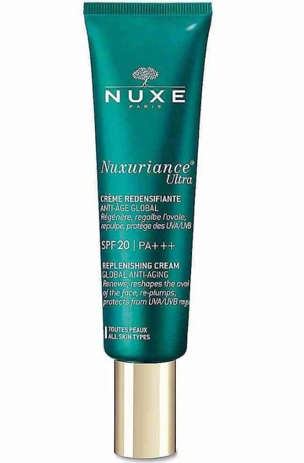 Nuxuriance Ultra Teljeskörű Anti-Aging Feltöltő Krém Fényvédelemmel SPF20