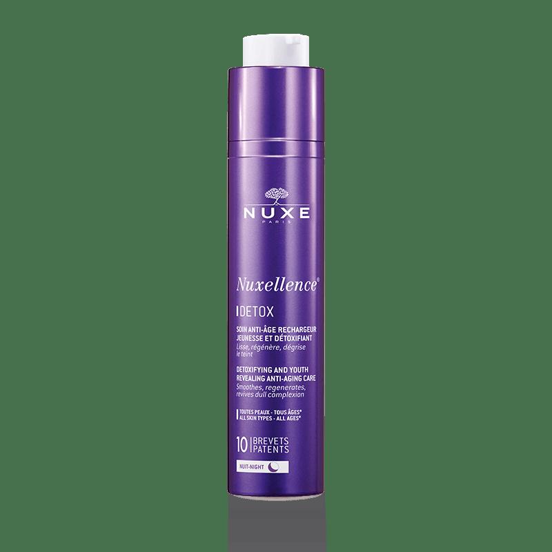 Nuxellence Detox - Bőrfiatalító És Méregtelenítő Éjszakai Anti-Aging Fluid
